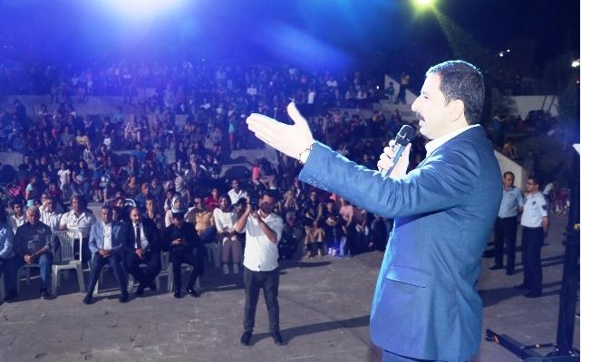 Seyrantepe'de Vatandaşlar Doyasıya Eğlendi