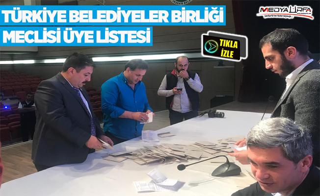 TBB'de Urfa'yı temsil edecek isimler belirlendi