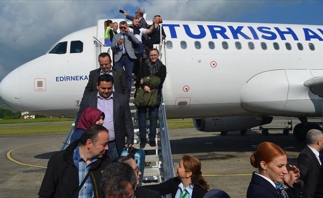 THY'nin İstanbul-Zonguldak seferleri başladı