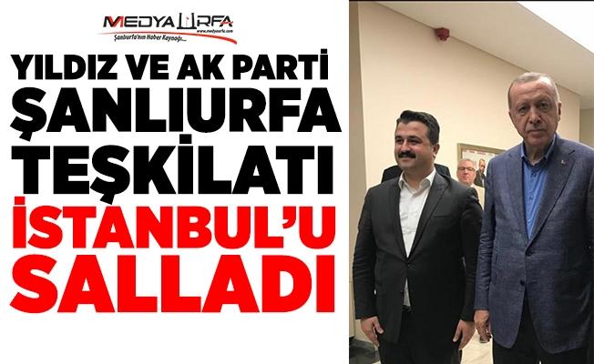 Başkan Yıldız Erdoğan ile görüştü