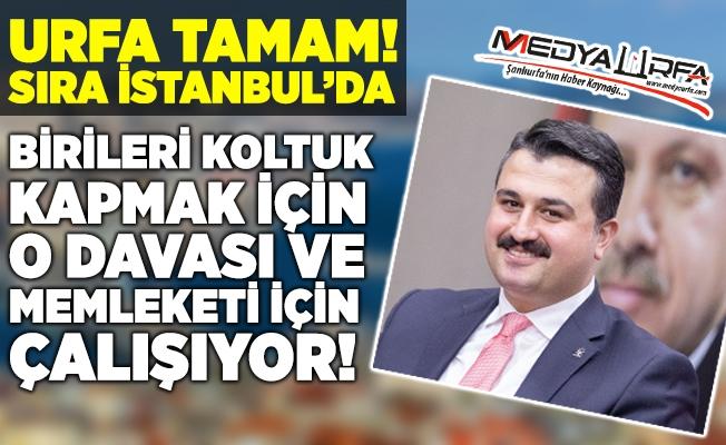 Başkan Yıldız İstanbul yolunda!