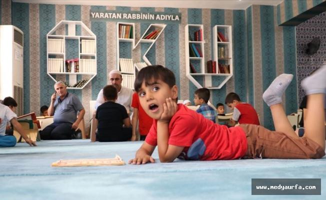 Doğu'da camilerden çocuk sesleri yankılanıyor