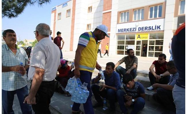 Haliliye Belediyesi öğrenci velilierini unutmadı