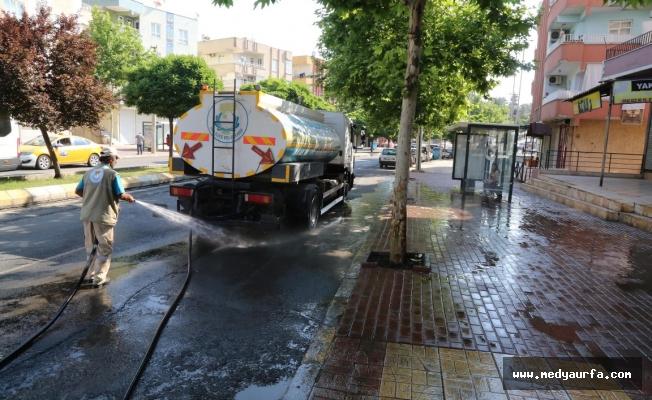 Haliliye'de özel temizlik programı