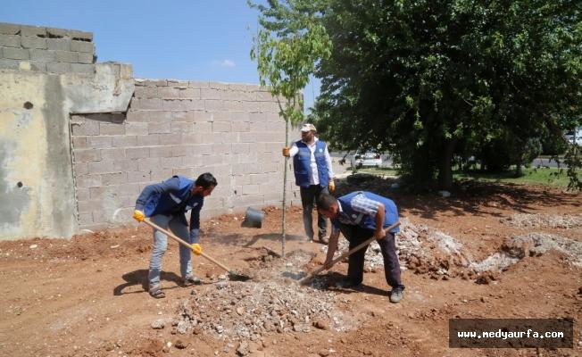 Haliliye'den Karşıyaka'da yeni park çalışması