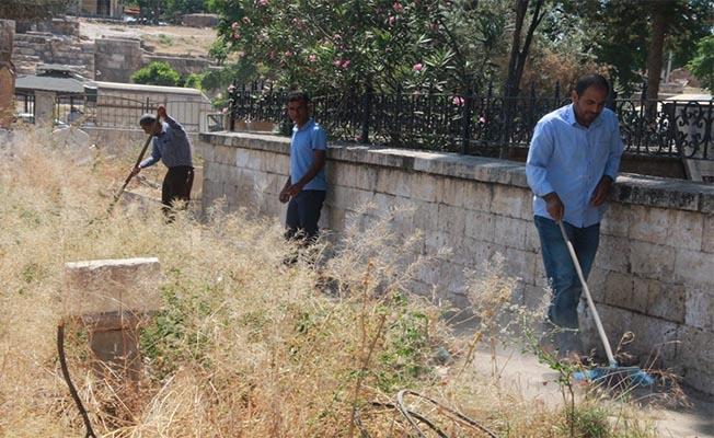 Harran'da hummalı temizlik çalışması