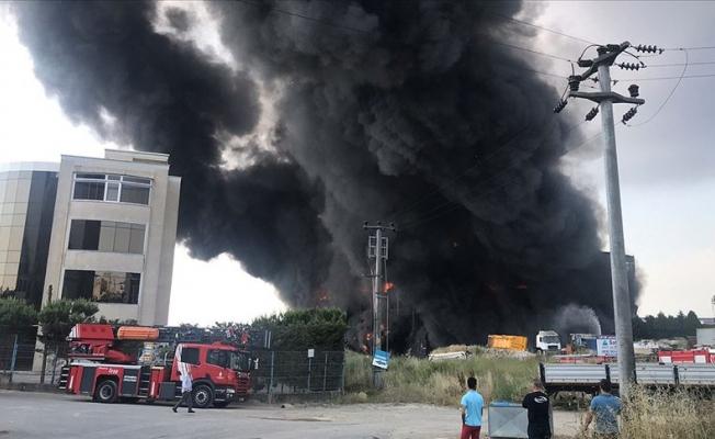 Kocaeli'de fabrika yangını: 4 ölü, 5 yaralı