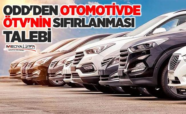 Otomotivcilerden otomotivde ÖTV'nin sıfırlansın talebi