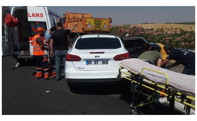 Urfa-Antep otoyolunda kaza: 1 ölü 2 yaralı