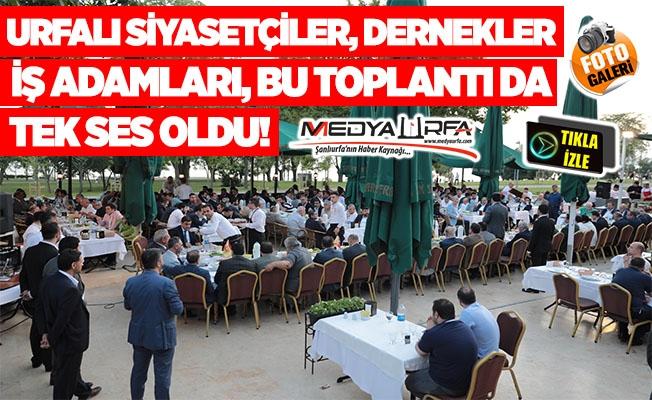 Urfalıları İstanbul'da buluşturan toplantı!