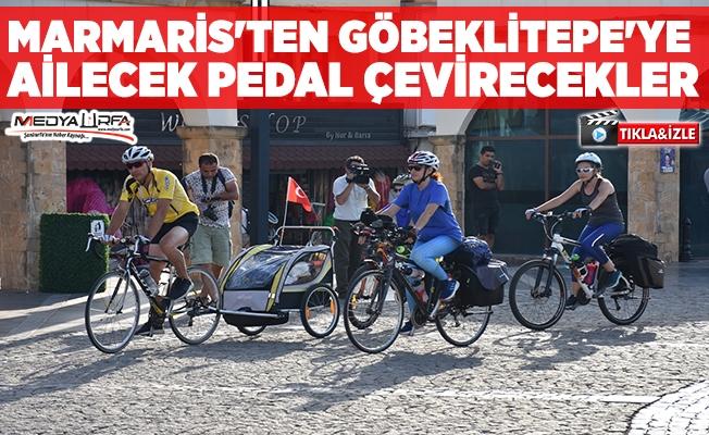 Marmaris'ten Göbeklitepe'ye pedal çevirecekler