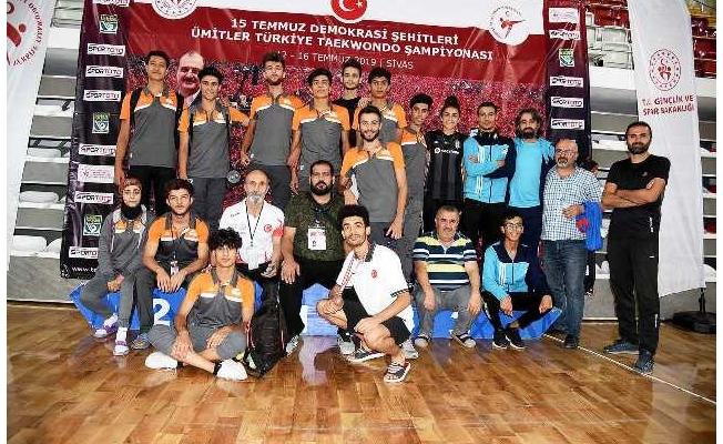 Şanlıurfalı sporcu Türkiye üçüncüsü oldu