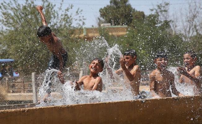 Güneydoğu'da sıcaklık 46 dereceyi aştı