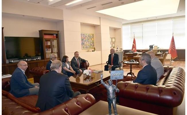 HDP heyeti, Kılıçdaroğlu'nu ziyaret etti