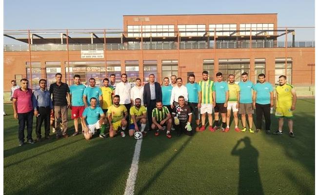 Şanlıurfa'da gençlik turnuvasının startı verildi