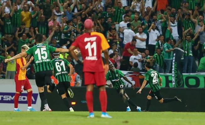 Süper Lig Denizlispor'un galibiyetiyle başladı