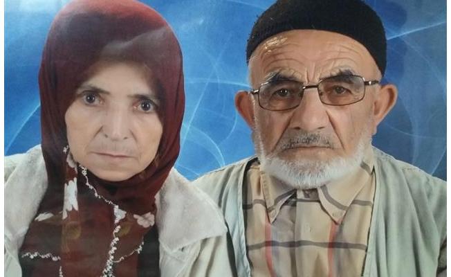 65 yıllık evli çift hayata aynı gün veda etti