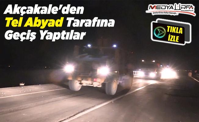 Askeri konvoy Telabyad'a geçiş yaptı