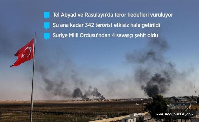 Barış Pınarı Harekatı'nda 3. gün