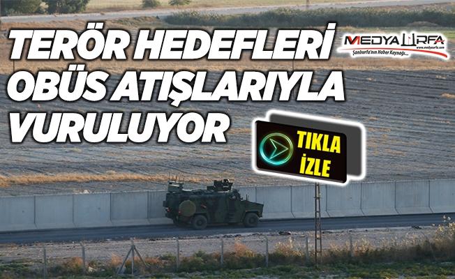 Tel Abyad'da terör hedefleri vuruluyor