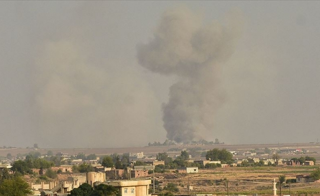 Tel Abyad'daki terör hedefleri ateş altında