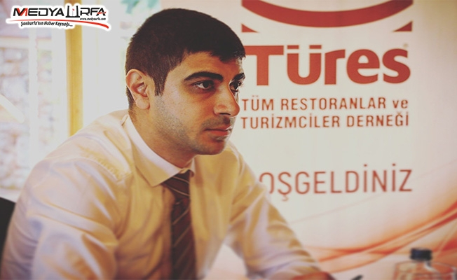 Urfalı Avukat, TÜRES'in genel başkan yardımcısı oldu
