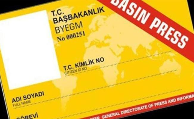 685 gazetecinin basın kartı iptal edildi