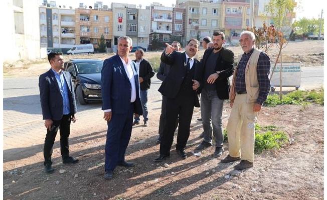 Canpolat Ahmet Yesevi'de çalışmaları denetledi