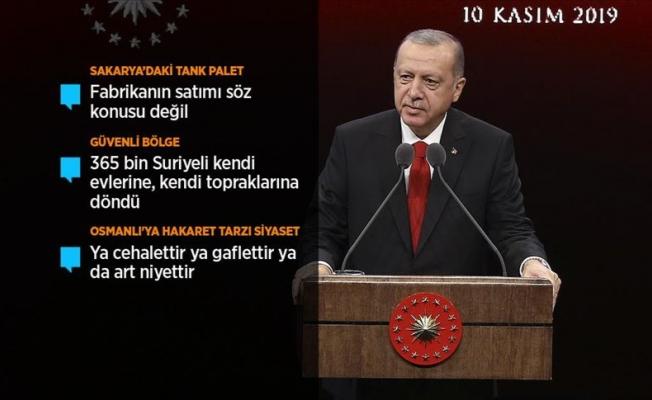 ''Cumhuriyetimizin lafla istismarını yapmadık''