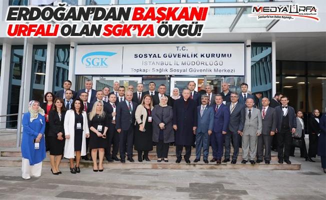 Erdoğan, SGK'nın toplu açılışına katıldı!