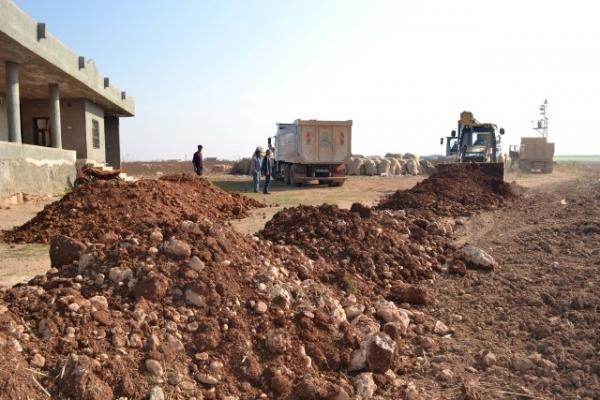 Eyyübiye merkezinde ve kırsalında hummalı çalışma