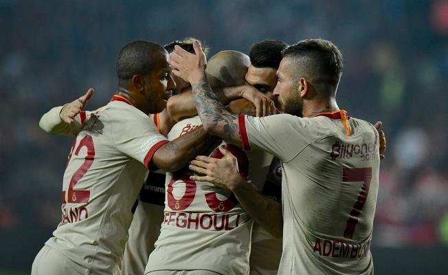 Galatasaray, Antep'ten 3 puanla döndü