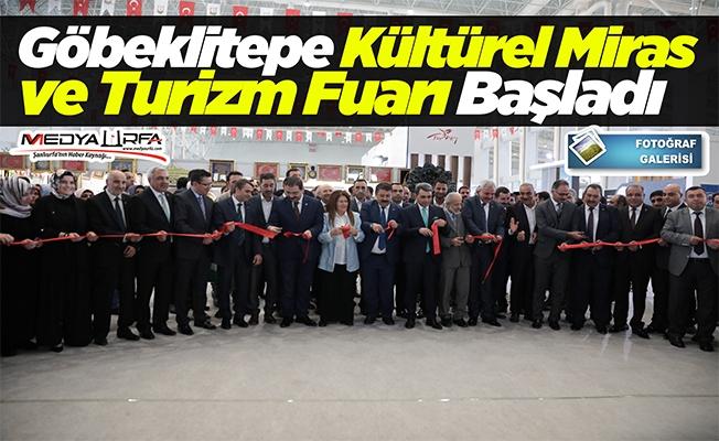 """""""Göbeklitepe Kültürel Miras ve Turizm Fuarı"""" başladı"""
