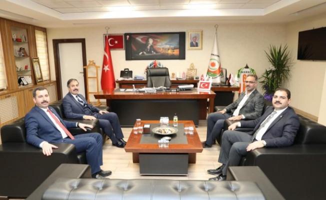 İlçe Belediye Başkanlarından Genel Sekreter Kırıkçı'ya Ziyaret