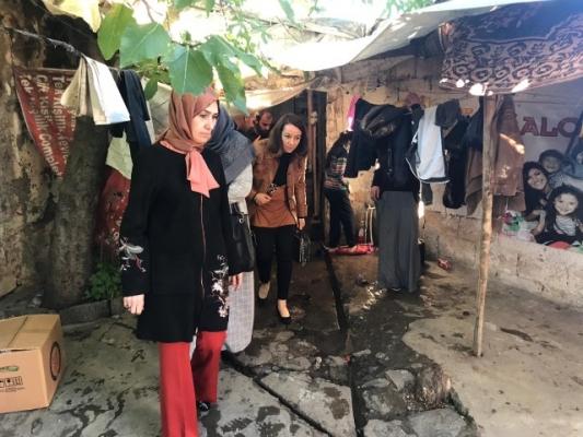 Kanser Hastası Birgül'e, Vali Eşinden Yardım Eli