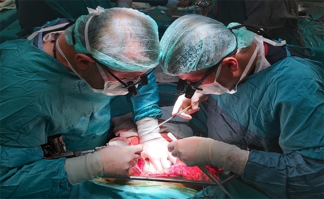 Kaza sonucu ölen vatandaşın organları bağışlandı