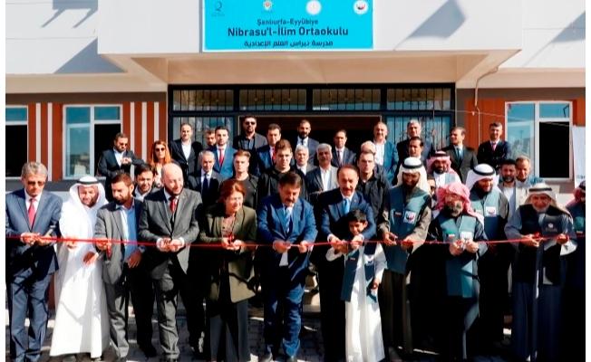 Kuveyt ve Katar'dan eğitime destek