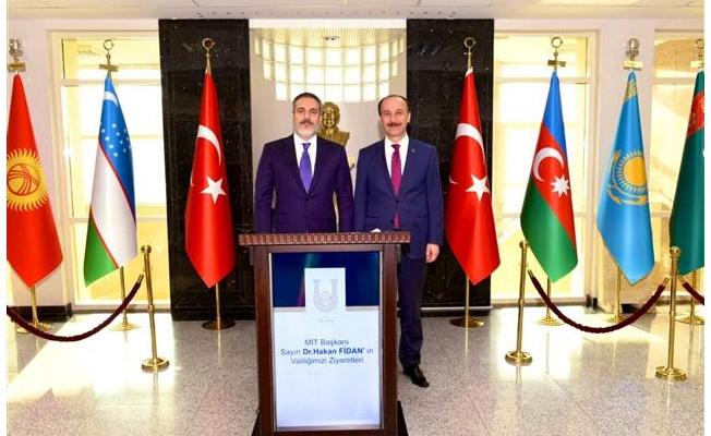 MİT Başkanı Fidan Şanlıurfa'da