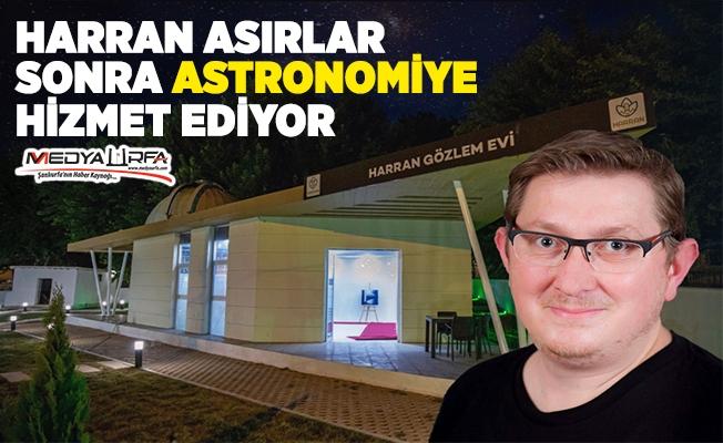 NASA'nın Türk çalışanı Harranlılarla buluşuyor
