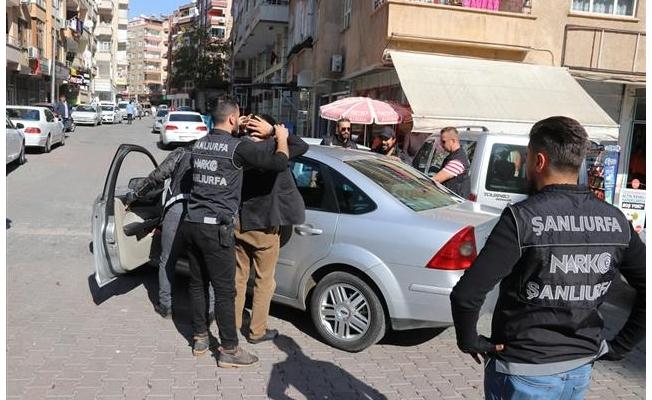 Urfa'da uyuşturucu operasyonlarında 35 tutuklama