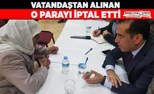 Suruç'ta kayyum başkanın ilk icraatı!