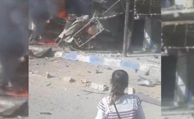 Tel Abyad'da bomba yüklü araçla saldırı