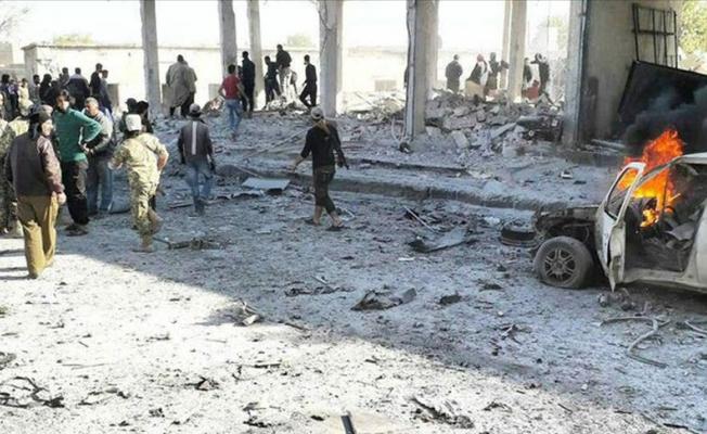 Tel Abyad'da bombalı araçla saldırı düzenledi