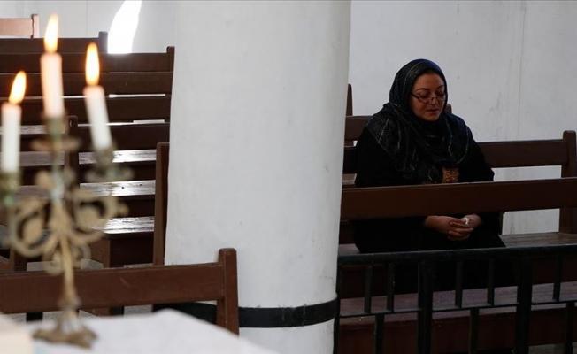 Türkiye'nin onardığı Ermeni kilisesi açıldı