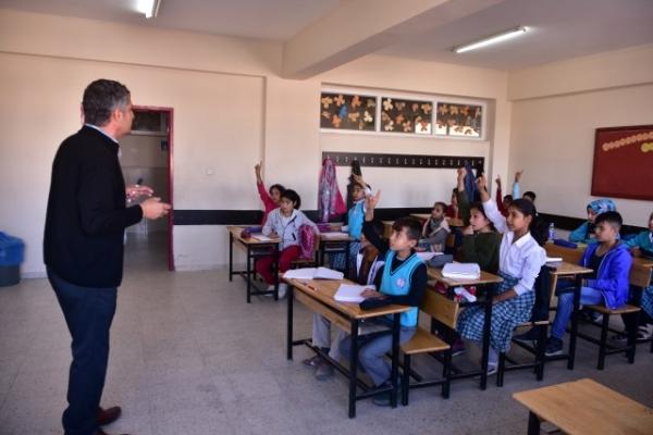 Urfa'nın sınır ilçelerinde telafi eğitimi