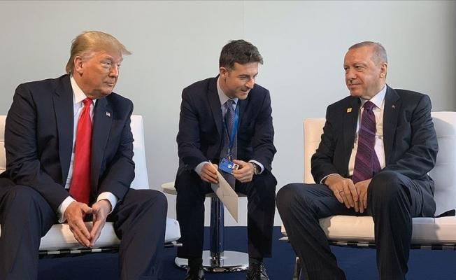 Erdoğan ile Trump bir araya geldi