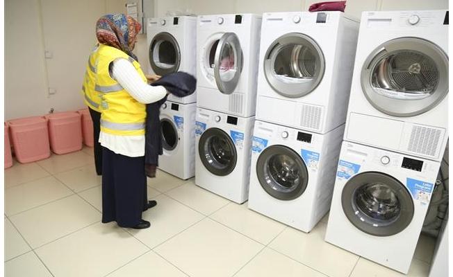Haliliye'den bir ilk: Ücretsiz çamaşırhane