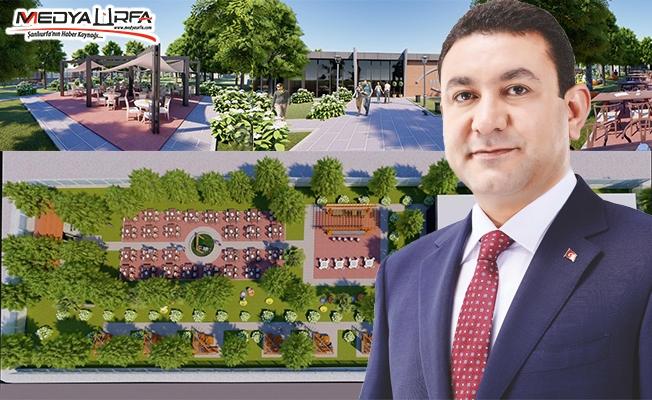 Harran'da dev projenin inşaatına başlandı