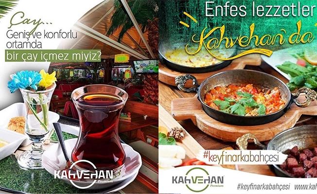 Kahvehan Cafe Restaurant Hizmete Girdi