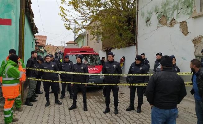Konya'da evde göçük: 2'si çocuk 3 kişi vefat etti